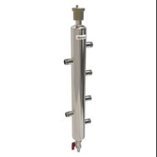 Гидравлический разделитель 40 кВт, 2 контура