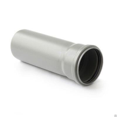 Трубы для внутренней канализации Uponor Decibel раструбные d=75 мм L=500 мм