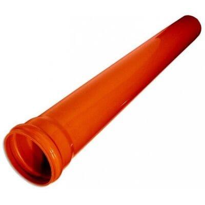 Трубы для наружной канализации ГОСТ НПВХ 200 x 4,9 x 6090