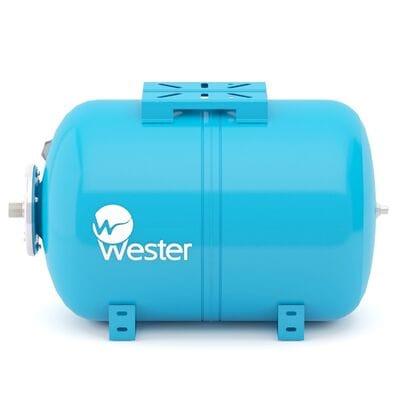 Мембранный бак Wester WAO100 горизонтальный для системы водоснабжения