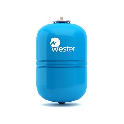 Мембранный бак Wester WAV 12 для системы водоснабжения купить в СПб