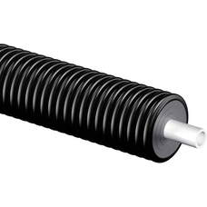 Теплоизолированные трубы Uponor Thermo Single 10 бар диаметр 90 мм