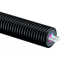 Теплоизолированные трубы Uponor Thermo Twin 10 бар диаметр 50 мм