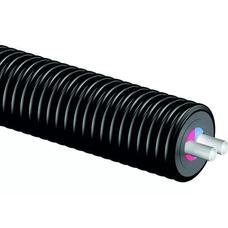 Теплоизолированные трубы Uponor Thermo Twin 6 бар диаметр 25 мм